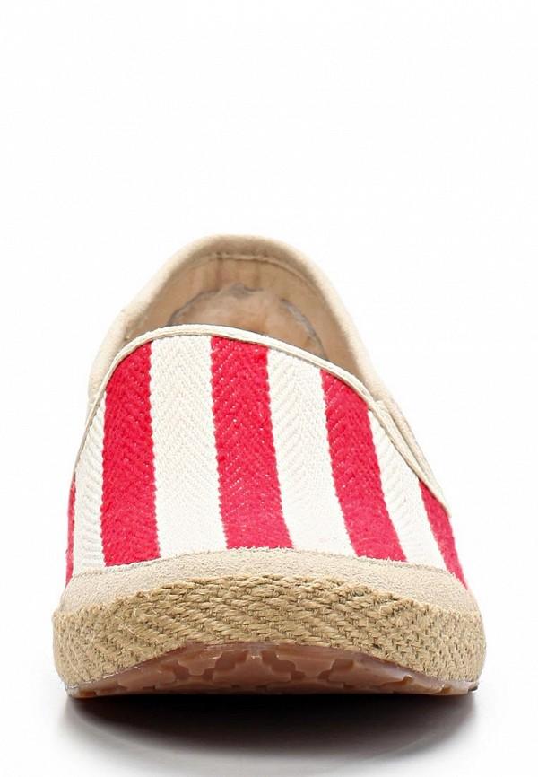 фото Слипоны женские UGG Australia UG174AWBEU31, красно-белые