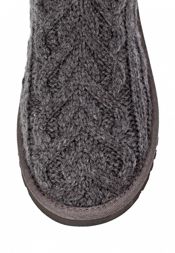 фото Женские угги UGG Australia UG174AWJH036, серые вязаные