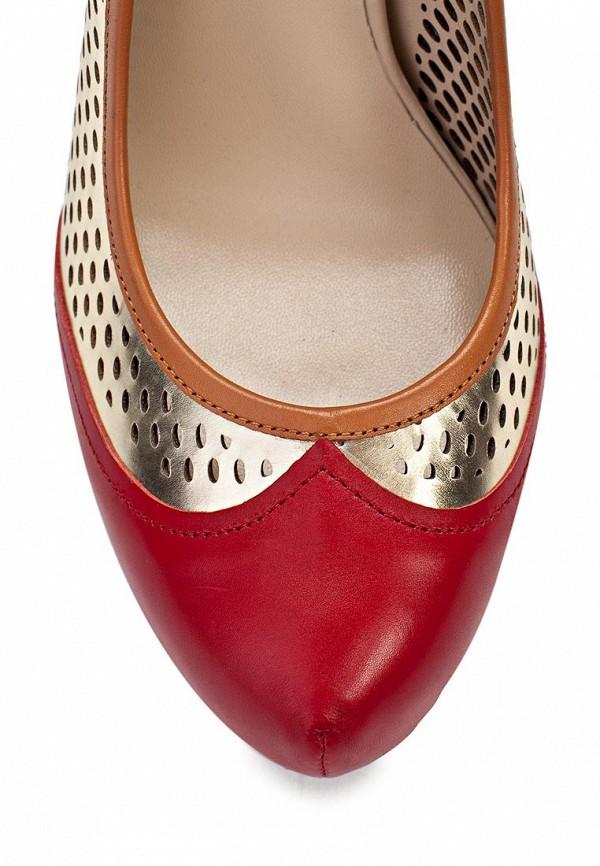 фото Туфли на высоком каблуке United Nude UN175AWAIO95, красно-золотые