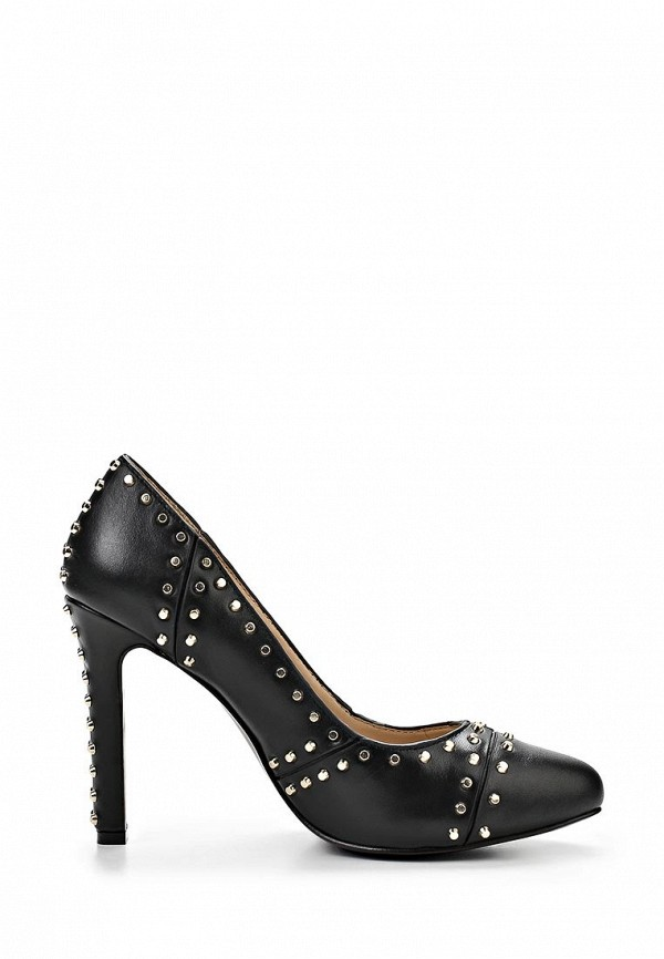 фото Женские туфли на каблуке United Nude UN175AWAIP36, черные кожаные