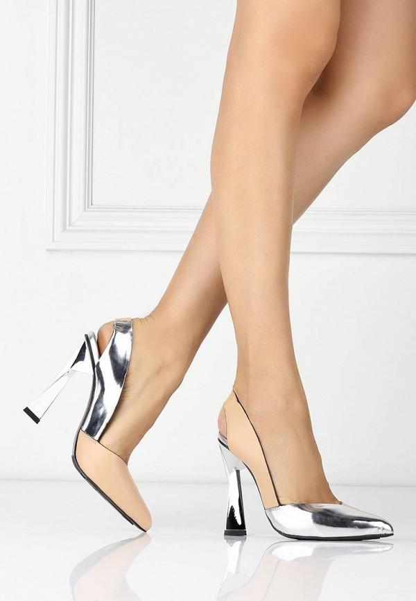 фото Туфли на высоком каблуке United Nude UN175AWAIP43, бежево-серебряные