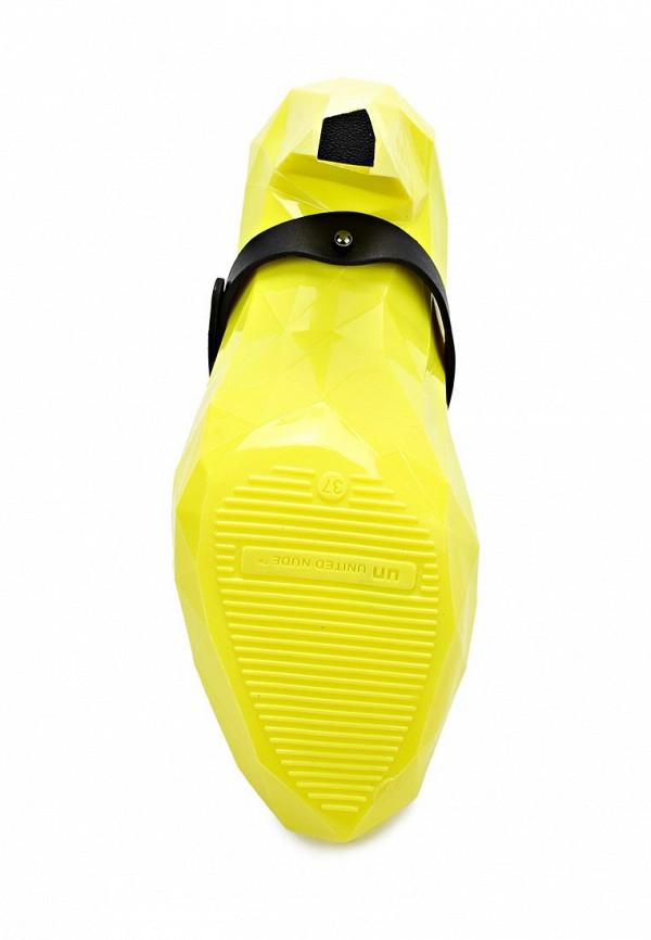 фото Туфли женские каблуке United Nude UN175AWAIP60, желтые