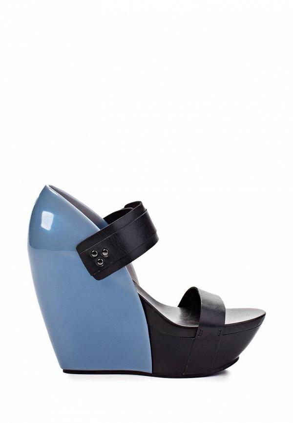 фото Босоножки на платформе United Nude UN175AWAIP73, черно-синие
