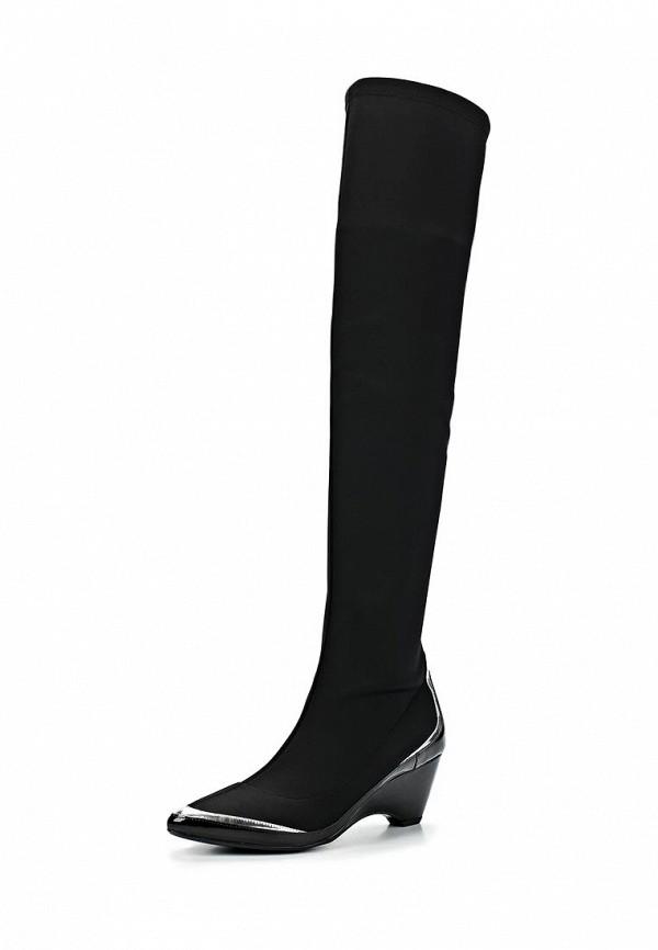 фото Женские ботфорты на каблуке United Nude UN175AWCNB55, черные