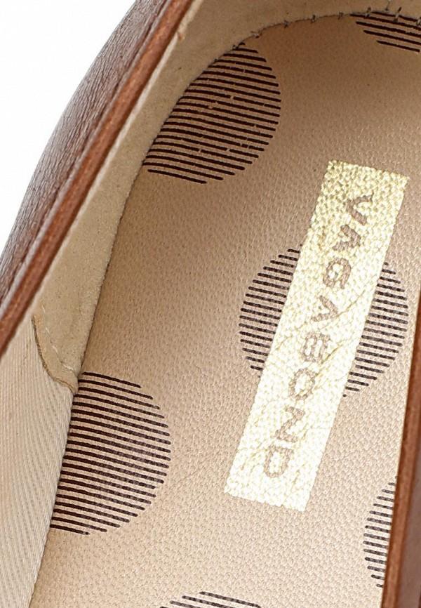 фото Балетки женские Vagabond VA468AWCMI94, коричневые кожаные