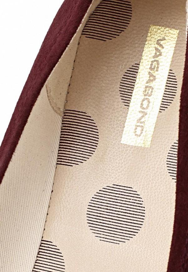 фото Балетки женские Vagabond VA468AWCMI96, коричневые (замша)