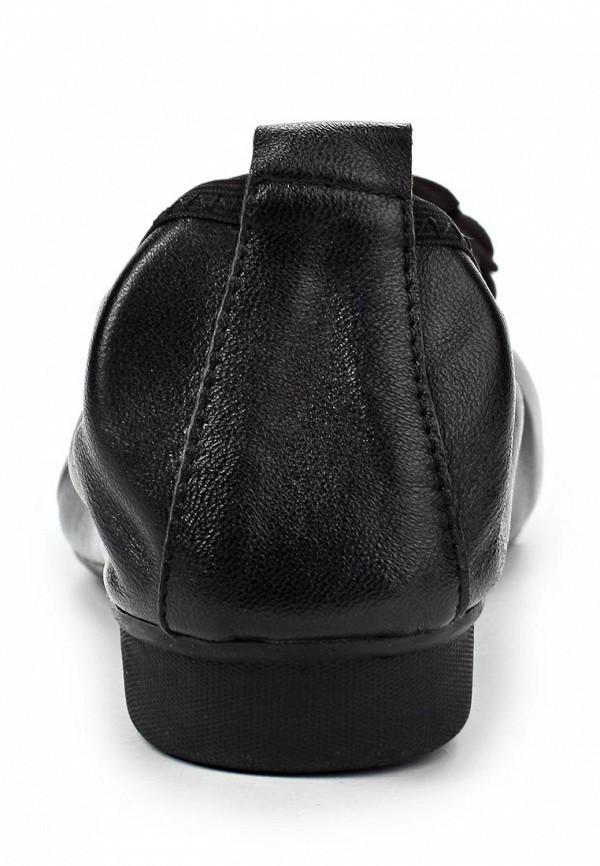 фото Балетки на каблуке с открытым носом Vitacci VI060AWAJU29, черные (кожа)