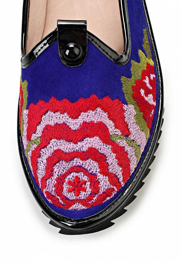 фото Лоферы женские Vitacci VI060AWAJV63, фиолетовые/цветные