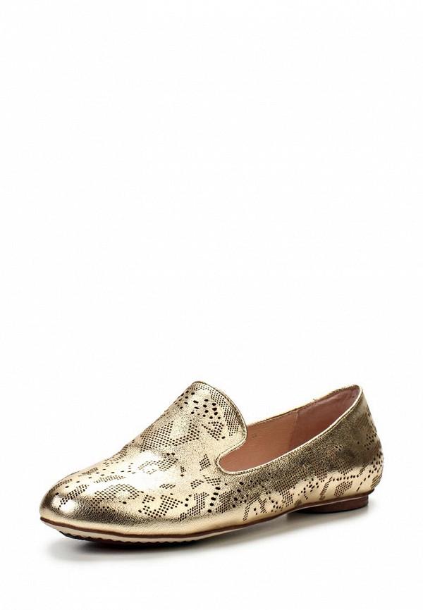 фото Туфли-лоферы женские Vitacci VI060AWAJV67, золотые