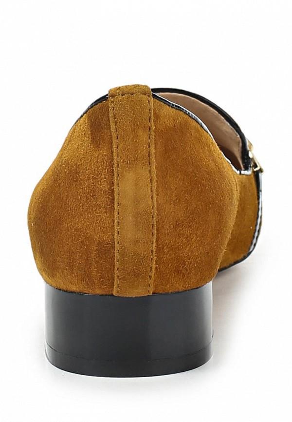 фото Лоуферы женские на каблуке Vitacci VI060AWAJV71, коричневые