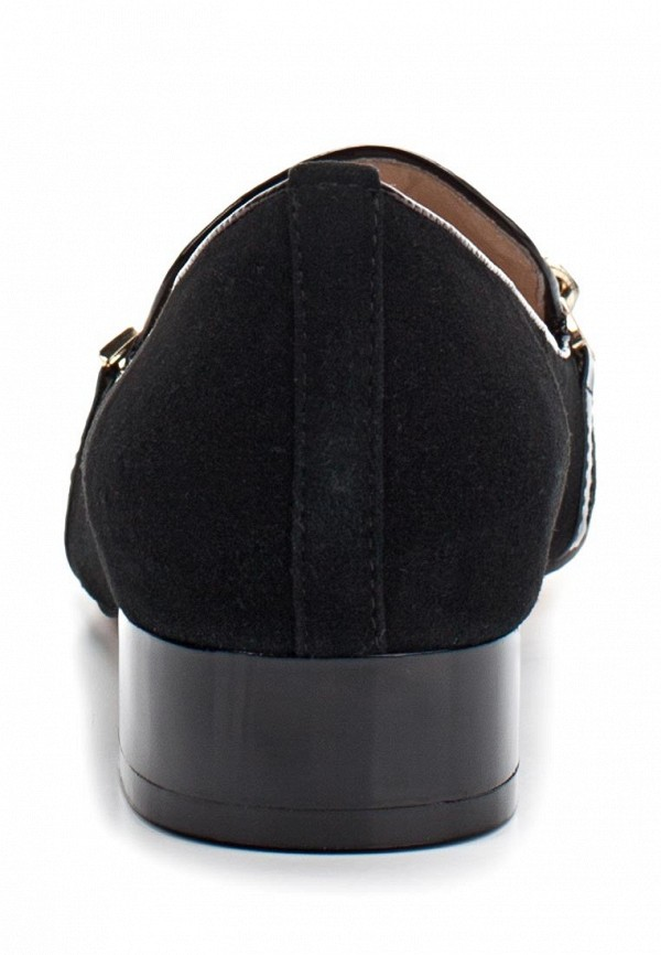 фото Лоферы женские на каблуке Vitacci VI060AWAJV72, черные