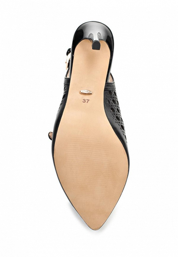 фото Туфли на каблуке-шпильке Vitacci VI060AWAJW13, черные без задника