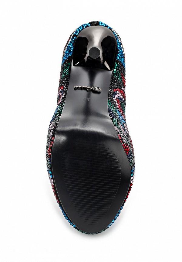фото Яркие туфли на платформе и шпильке Vitacci VI060AWAJW16, цветные
