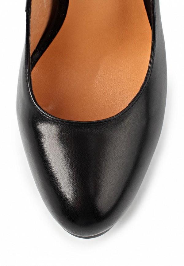 фото Туфли на платформе и высоком каблуке Vitacci VI060AWAJW40, черные (кожа)