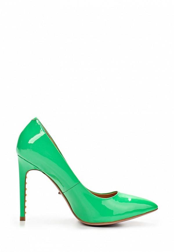 фото Туфли на каблуке-шпильке Vitacci VI060AWAJW67, зеленые лаковые