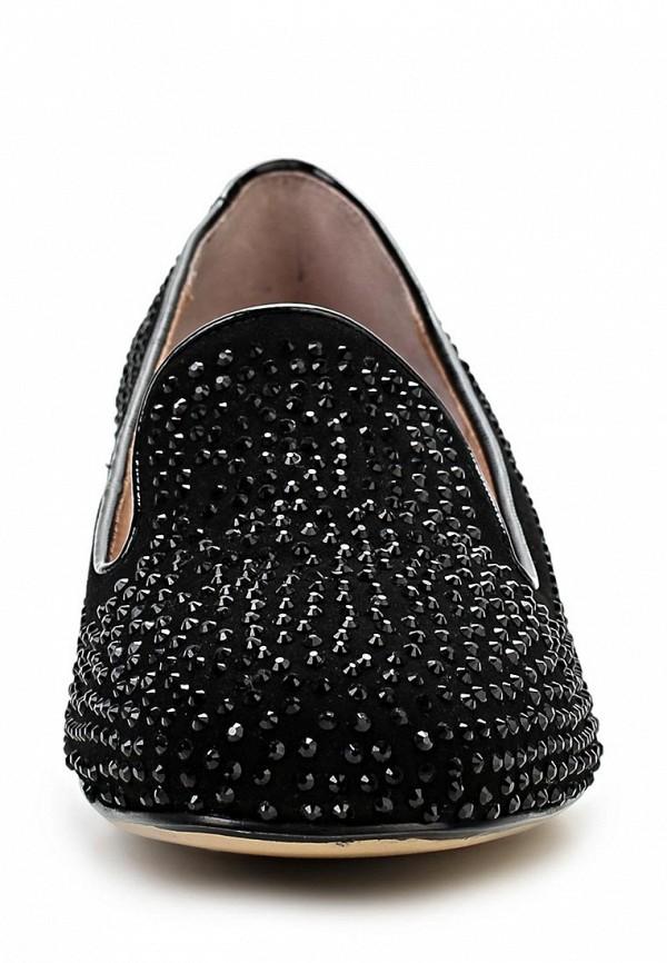 фото Лоферы женские Vitacci VI060AWBCX41, черные/каблук