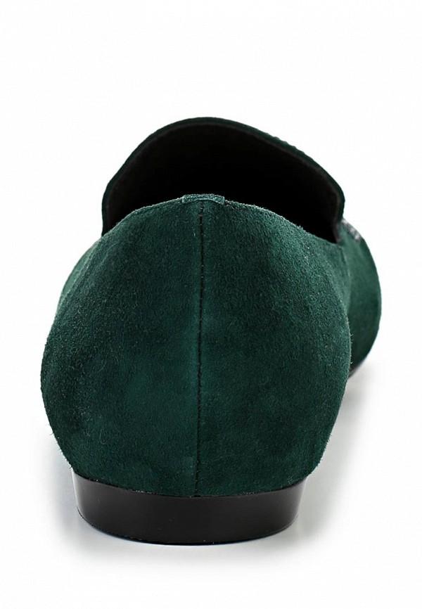 фото Лоферы женские Vitacci VI060AWBCX61, зеленые