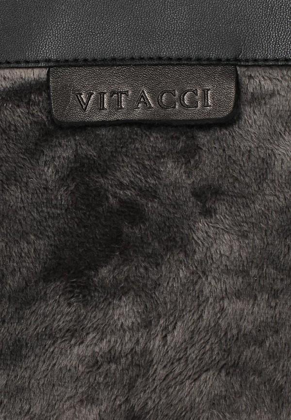 фото Сапоги женские Vitacci VI060AWCJD18, черные замшевые