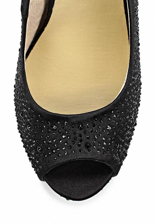 фото Туфли на платформе и высоком каблуке Vitacci VI060AWCJD27, черные