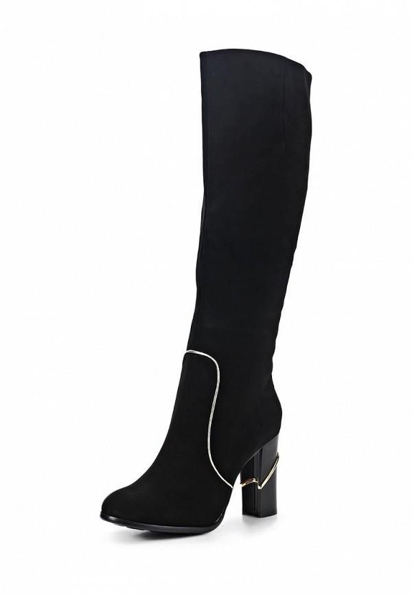 фото Сапоги женские на высоком каблуке Vitacci VI060AWCJF49, черные