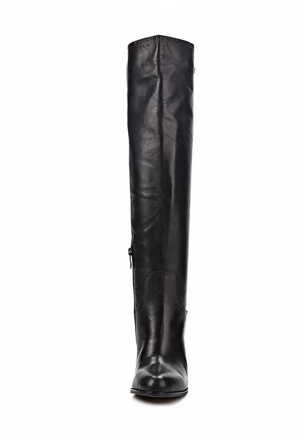фото Женские ботфорты на танкетке Vitacci VI060AWCJF60, черные кожаные