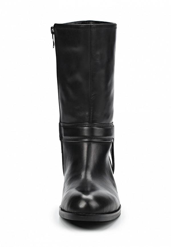 фото Женские полусапожки на низком каблуке Vitacci VI060AWCJF76, черные