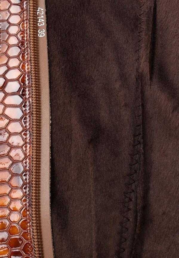 фото Сапоги женские Vitacci VI060AWCJF82, коричневые (кожа питона)