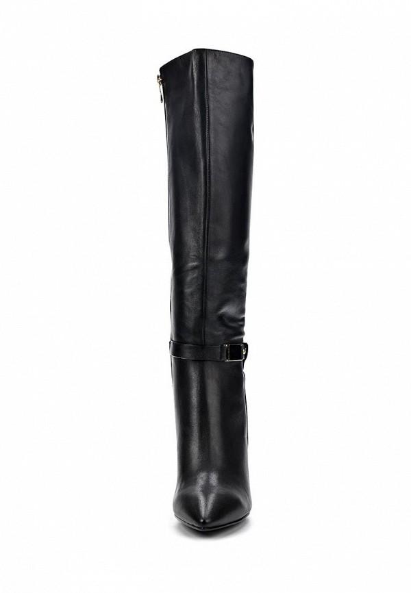 фото Сапоги женские на шпильке Vitacci VI060AWCJF94, черные кожаные