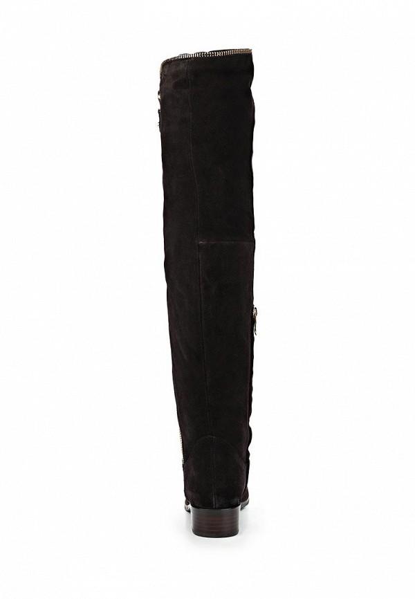 фото Женские сапоги-ботфорты Vitacci VI060AWCNF11, черные замшевые