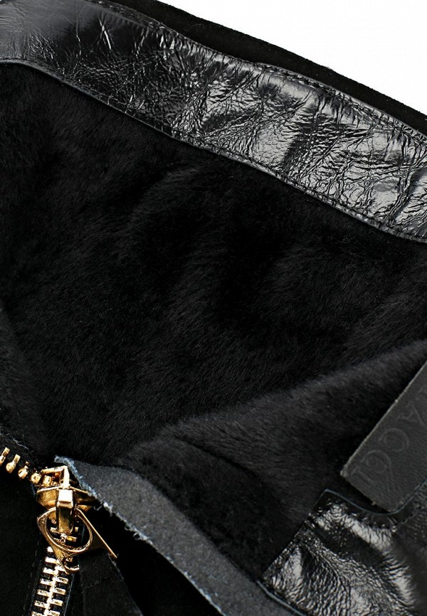 фото Женские сапоги-ботфорты Vitacci VI060AWCNF12, черного цвета