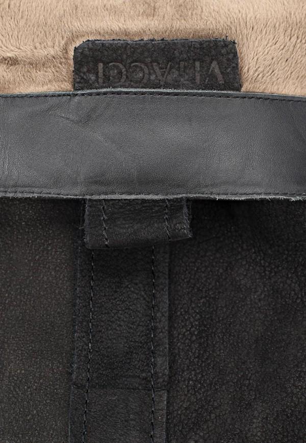 фото Сапоги женские на низком каблуке Vitacci VI060AWCNF23, черные