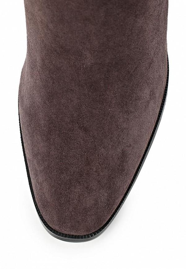 фото Сапоги женские на высоком каблуке Vitacci VI060AWCNF29, коричневые
