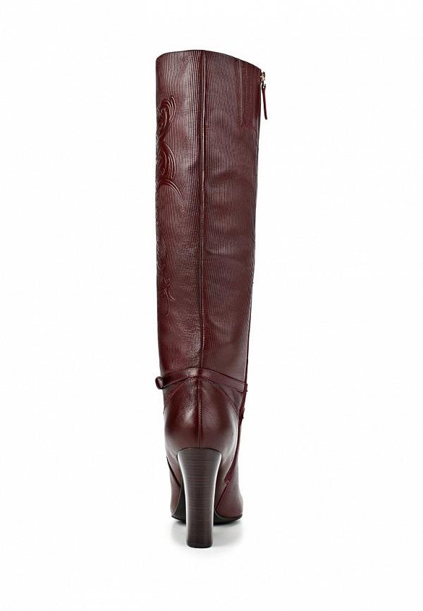 фото Женские ботфорты на толстом каблуке Vitacci VI060AWCNF31, бордовые