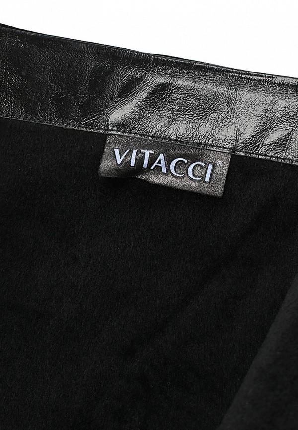 фото Сапоги женские на плоской подошве Vitacci VI060AWCNF34, черные