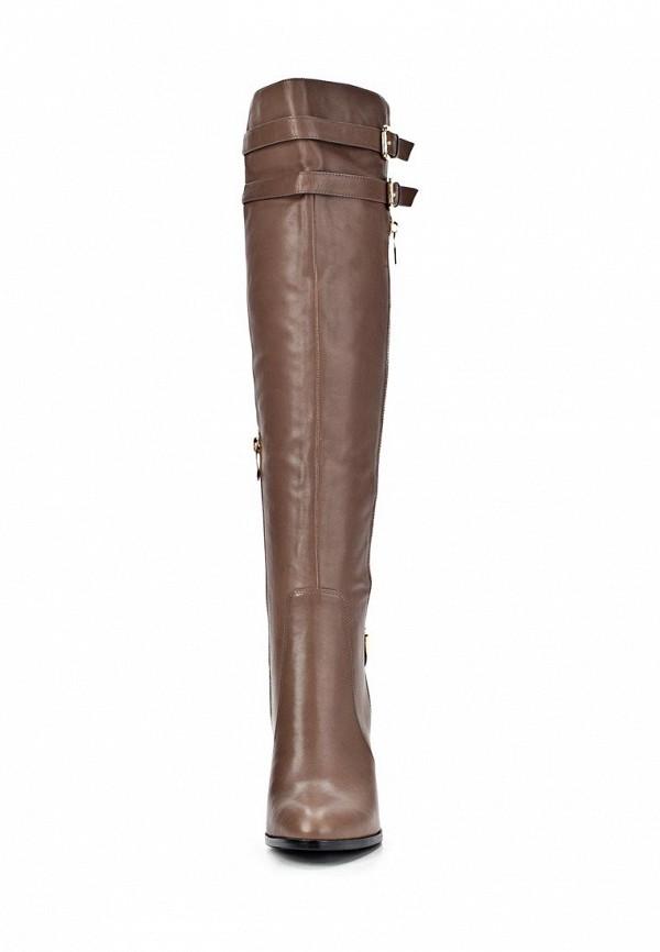 фото Ботфорты на высоком каблуке Vitacci VI060AWCNV49, коричневые/демисезон