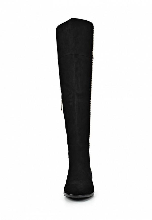 фото Замшевые ботфорты на плоской подошве Vitacci VI060AWCNV52, черные
