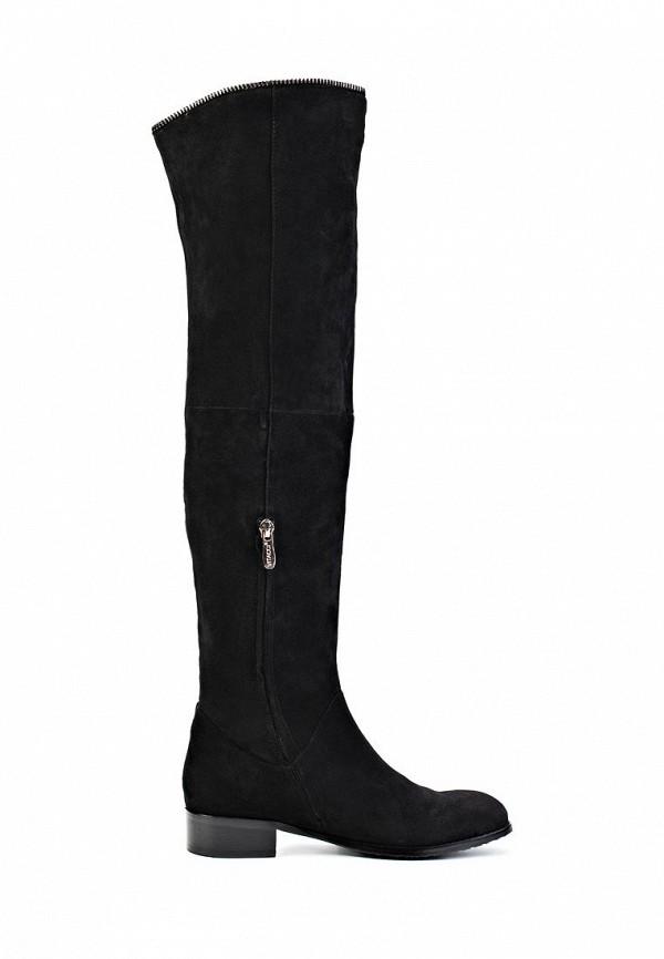 фото Женские сапоги-ботфорты Vitacci VI060AWIT012, черные (велюр)