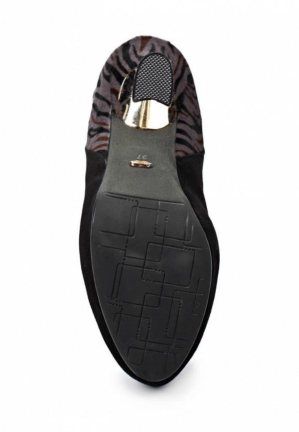 фото Ботильоны на платформе и каблуке Vitacci VI060AWIT246, черные