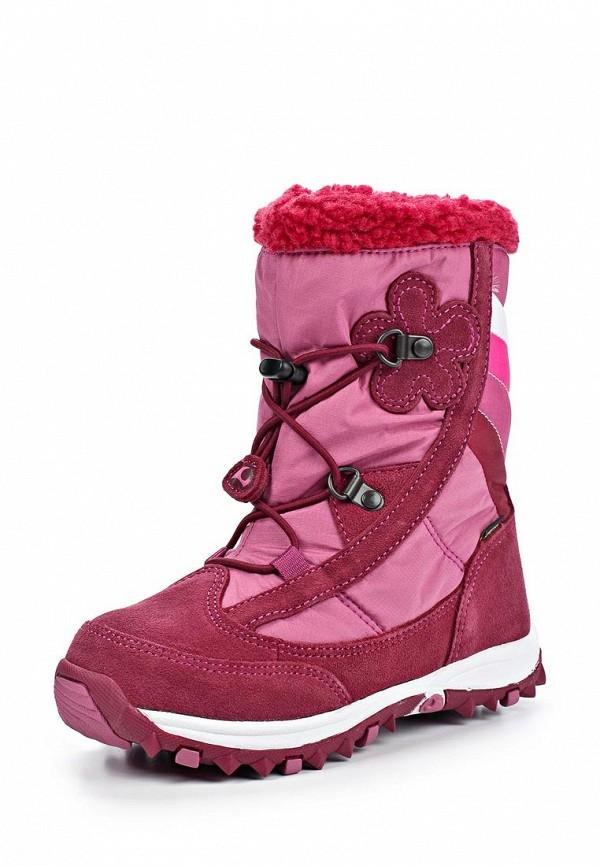 Сапоги Viking, красный,розовый цвет