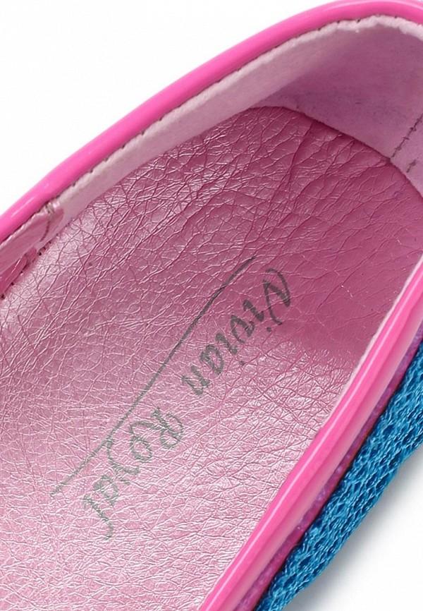 фото Балетки женские Vivian Royal VI809AWBJW39, синие/розовые