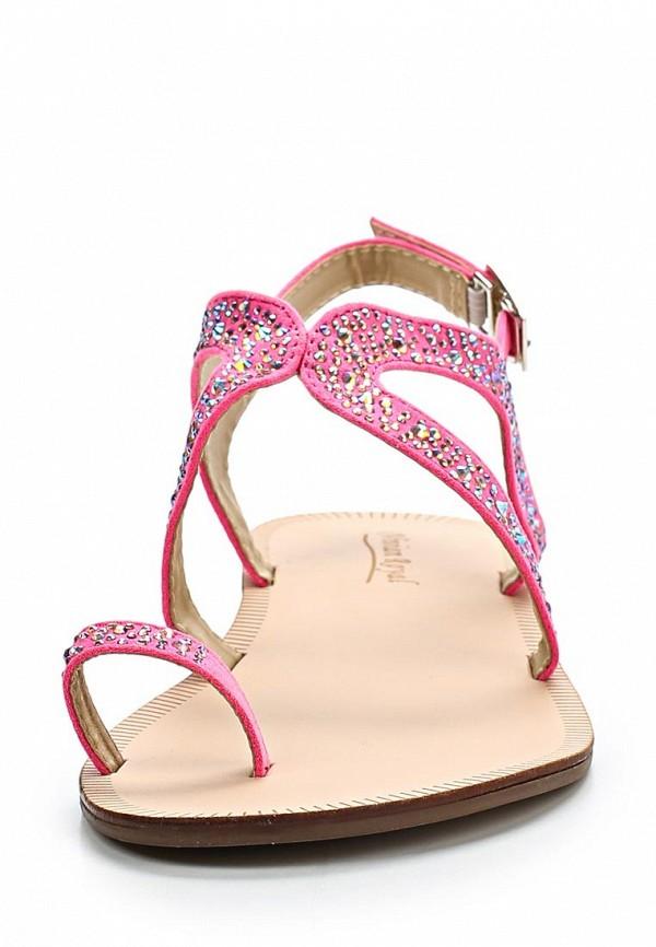 фото Женские летние сандали Vivian Royal VI809AWBJW77, розовые