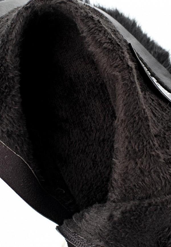 фото Женские полусапожки на платформе Vivian Royal VI809AWCOA71, черные/шпилька