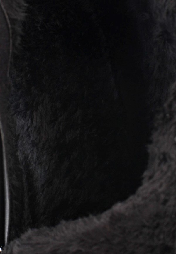 фото Ботильоны на платформе и шпильке Vivian Royal VI809AWKY323, черные замшевые