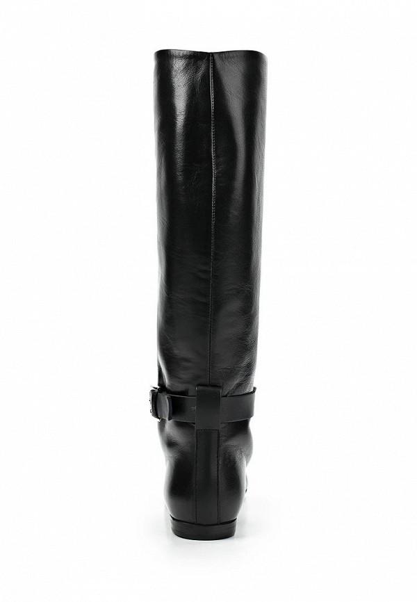 фото Сапоги женские без каблука Vicini Tapeet VI993AWCGZ94, черные кожаные