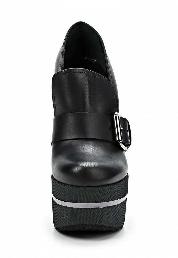 фото Туфли-лоферы на платформе Vicini Tapeet VI993AWCHA01, черные