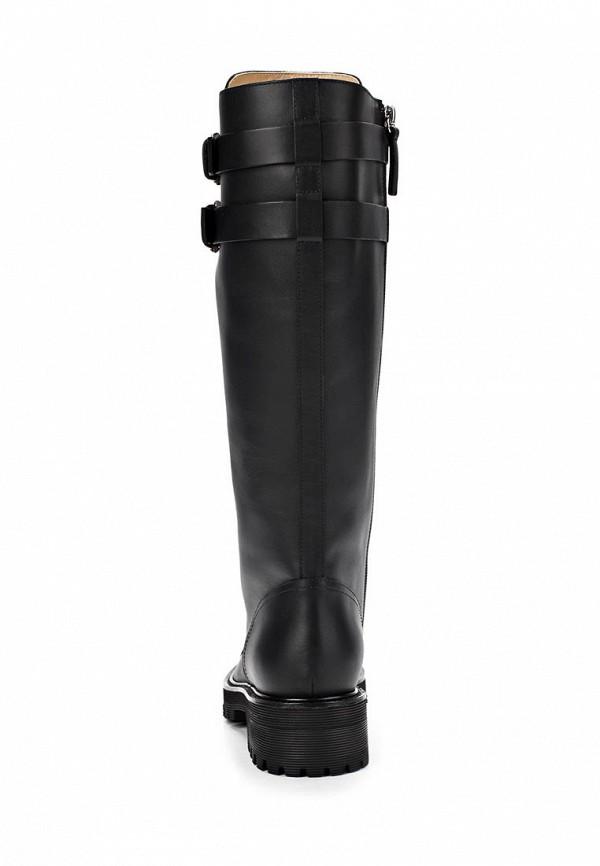 фото Сапоги женские на шнуровке Vicini Tapeet VI993AWCHA06, черные