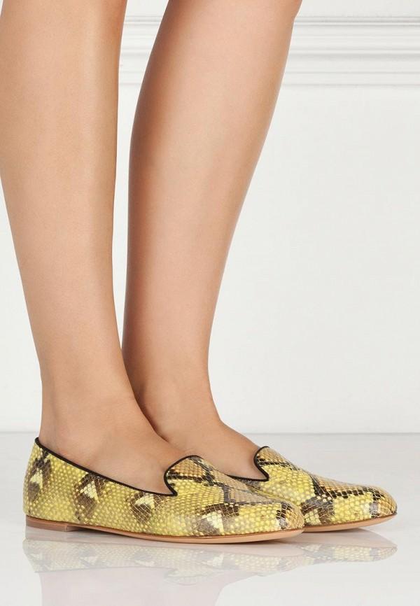 фото Лоферы женские Vicini VI994AWBFH96, желтые