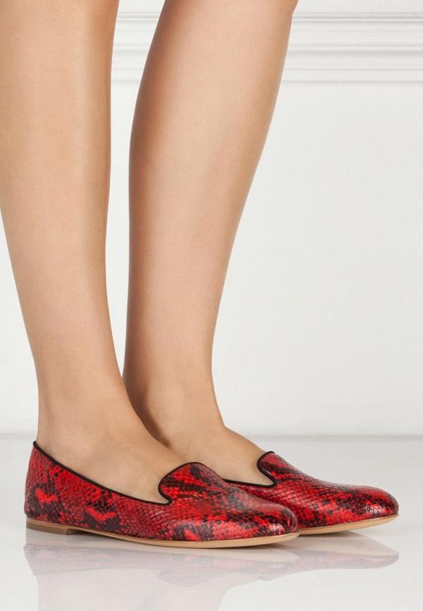 фото Лоферы женские Vicini VI994AWBFH97, красные