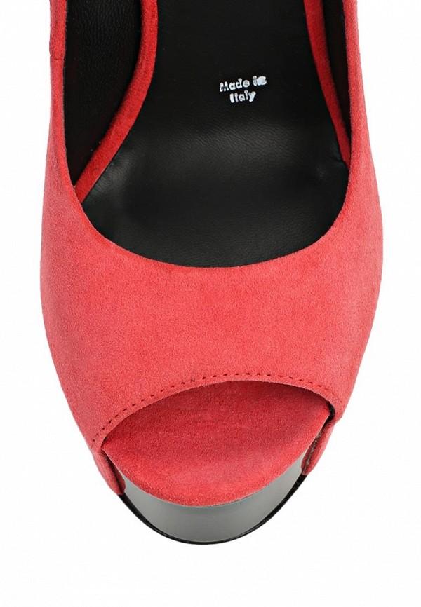 фото Туфли на высокой платформе Vicini VI994AWBFI09, красные