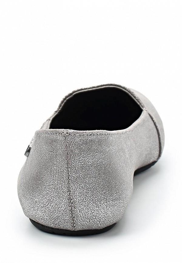 фото Балетки текстильные Volcom VO001AWBNY91, серебристые